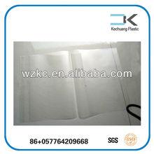 Transparent Plastic document hard cover book slip cover