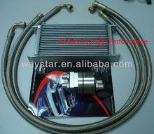 19 rows oil cooler kit Nissan Skyline oil cooler kit wholesale