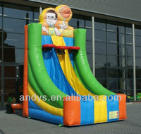 Sports inflatables,inflatable basket ball shooting game,inflatable sports game