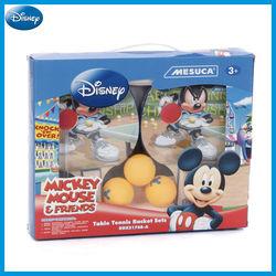 Top Selling Mesuca Sports Produce Disney Micket Table Tennis Bat Set DDX31768-A