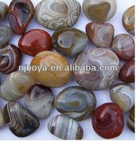 agate stone, natural polished agate stone