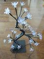 32l bianco caldo fiore di ciliegio portato natale luci albero per la decorazione diinterni