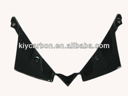 Carbon motorcycle windshield for BMW K1300S