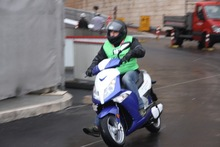 6000W sporty electric motorcycle with top speed 105km/h