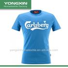OEM&ODM 5.3oz 100% Pre-Shrunk Cotton tshirt with custom logo printed(YXG13-C61)