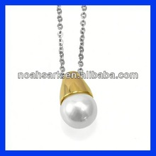 pearl stainless steel pendant
