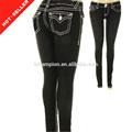 ( # Tg429w ) 2014 fille image épais couture leggings sexe chaud jeans leggings photos de jeans pantalons adolescente femmes dames