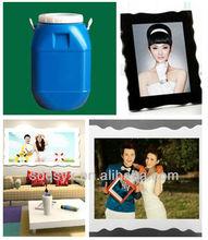 AB glue to make Korean crystal photo album book cover/frames