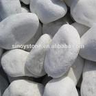 White tumbled stone