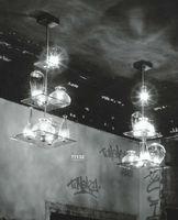 Novelty Glass Room Pendant Lamps Modern Style