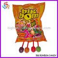 lista de materiales de gran sabor de la fruta lollipop