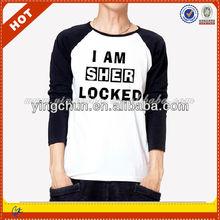 Custom Two Color Dri Fit Men Long Sleeve T-Shirt
