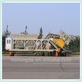 75m3/h portátil de hormigón planta de proceso por lotes para la venta yhzs75
