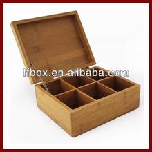 Fancy Bamboo Storage Box For Tea