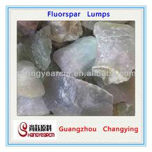 CaF2 90% Natural Minerals Fluorspar Lumps