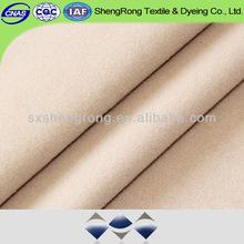 2014 fashion dyeing T/R robe velour /brush fabric