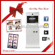 2013 nova tecnologia wi fi Photo Booth para ao ar livre negócio de publicidade