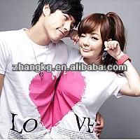 romantic Couple t-shirts,couple t shirt 2015 ,interesting couple t shirts