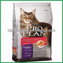 Flexible printing and lamination aluminum pet or food or cat packaging bags