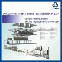1.5-25D POLYESTER FIBER PRODUCTION PLANT, PET BOTTLES RECYCLED FIBER PRODUCTION LINE