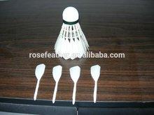 Cheap badminton shuttlecock wholesale quality as rsl international tournament
