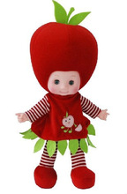 18 inch Musical doll fruit shaped toy baby doll apple shaped GY95091