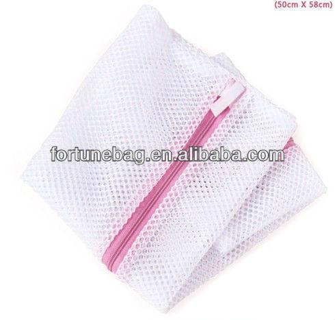 ซิปไนลอนตาข่ายถุงซักผ้า