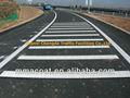 termoplástico nomes de tintas em pó de revestimento para a vibração da marcação de estrada