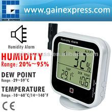 Temperatura umidità relativa rh punto di rugiada dp metro tester/digitale multifunzione interno/esterno termo- igrometro