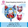 Different size printable advertising balloon nylon