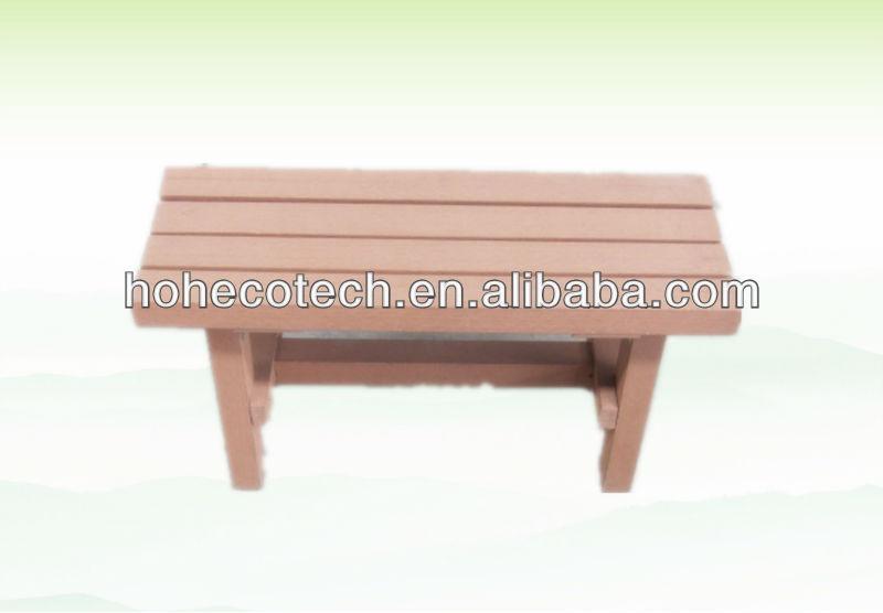 Waterproof Outdoor Furniture Wood Composite Bench