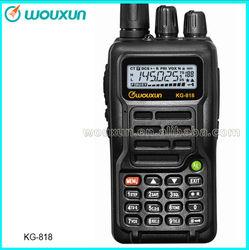 Factory Direct Sale VHF 5W/UHF4Wwith motorcycle helmet walkie talkie KG-818