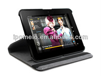 Leather case For Amazon kindle fire HD 360 Rotation, china alibaba