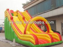 New Design lovely cartoon inflatable slip and slide