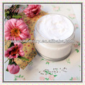 leche hidratante y gel blanqueador