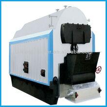 Horizontal single drum coal fired chain grate steam boiler DZL1-0.7-AII