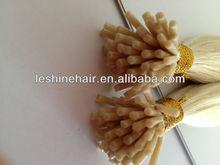 Hot!!! Stock Price Superior Keratin Quality Eurasian I Tip Hair Extension