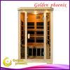 Infrared sauna room G2P Hemlock carbon heater sauna