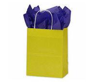 Yellow High Gloss Paper Shopping Bag