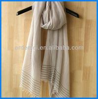custom made long portuguese scarf cotton