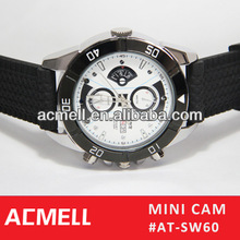 2013 New Products Hidden 720P IR TF Card hand watch camera