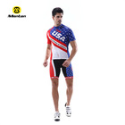 Bicycle wear /cycling jersey set sublimation with USA flat specialized for men