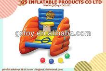 PVC inflatable kids basketball set EN71 approved