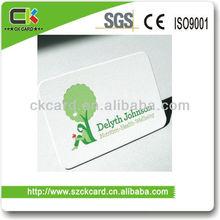 Fashion Brand Custom CMYK Color Printing Brand VIP Use Plastic Card Making
