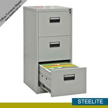 FC-D3 3 chrome filing cabinet