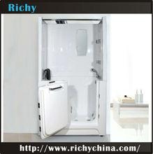 good quality 1200mm acrylic shower surround