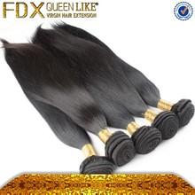 How beauty virgin brazilian straight hair 3pcs lot mixed,100% virgin brazilian straight hair