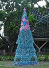 Hotel/square Ceremony Crystal sculpture design big Christmas tree light