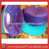 ladies formal hats baseball bump cap polyester blank cap