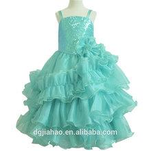 Fine Workmanship Beaded Embroidey Formal Dresses For Girls